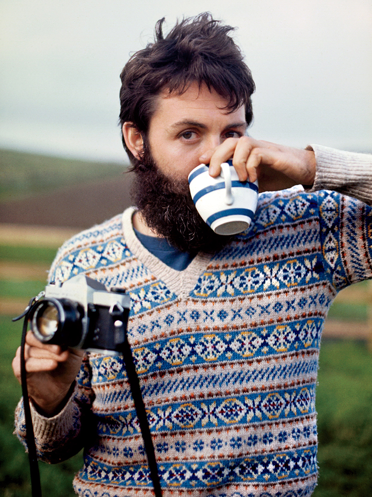 gq :       TBT: When Paul McCartney Left the Beatles and Grew an Epic Beard     See more of Sir Paul's post-Beatles style  here .