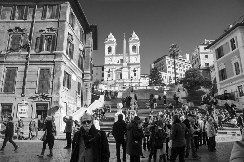 The Spanish Steps, Rome, Italy. 2012