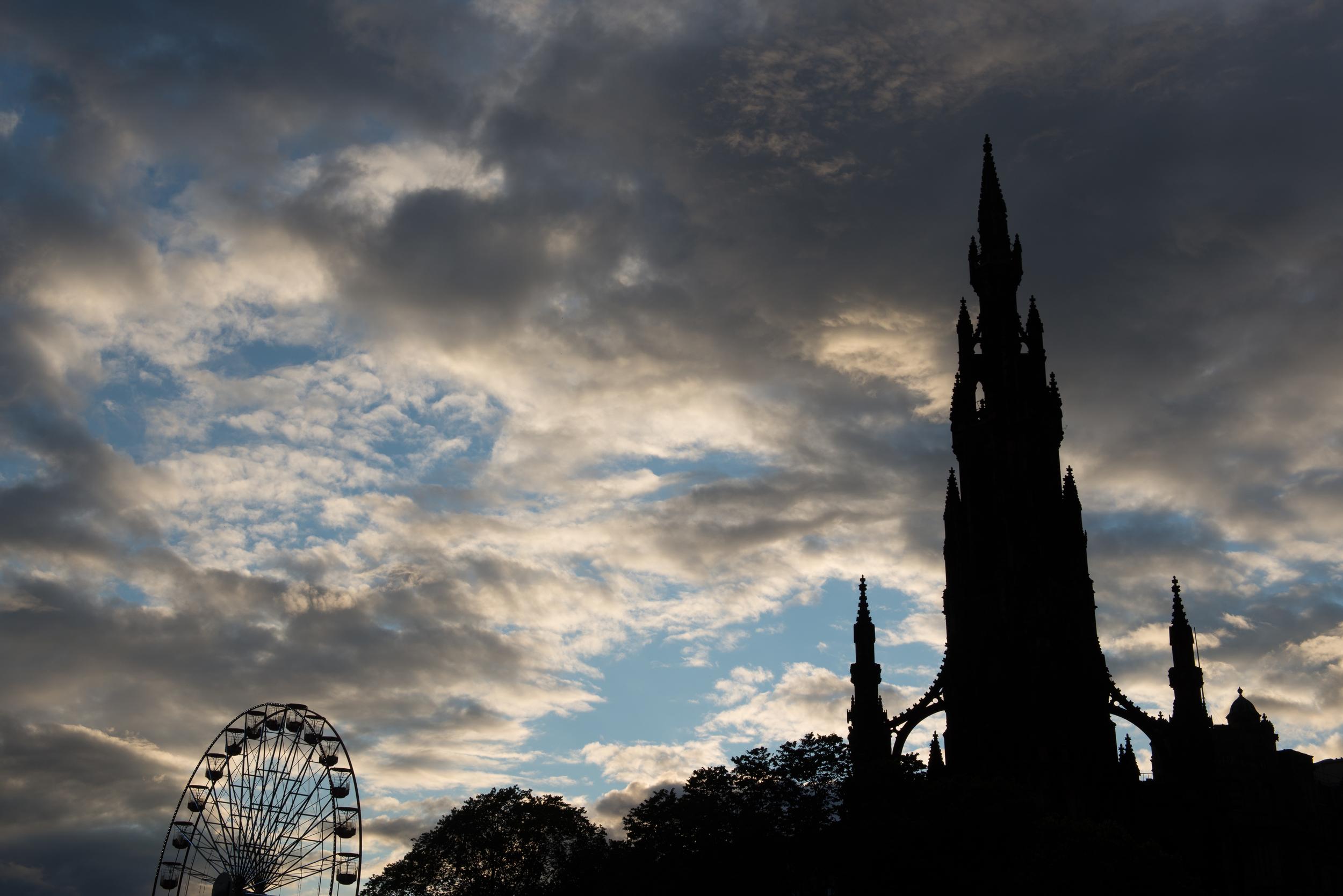 The Scott Monument, Edinburgh, Scotland. 2015
