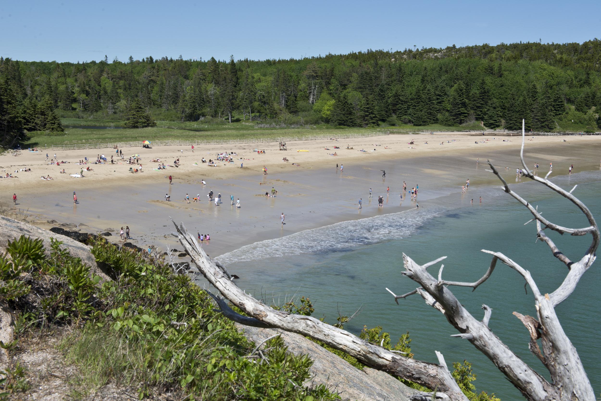 Sand Beach, Acadia National Park, Maine. 2015