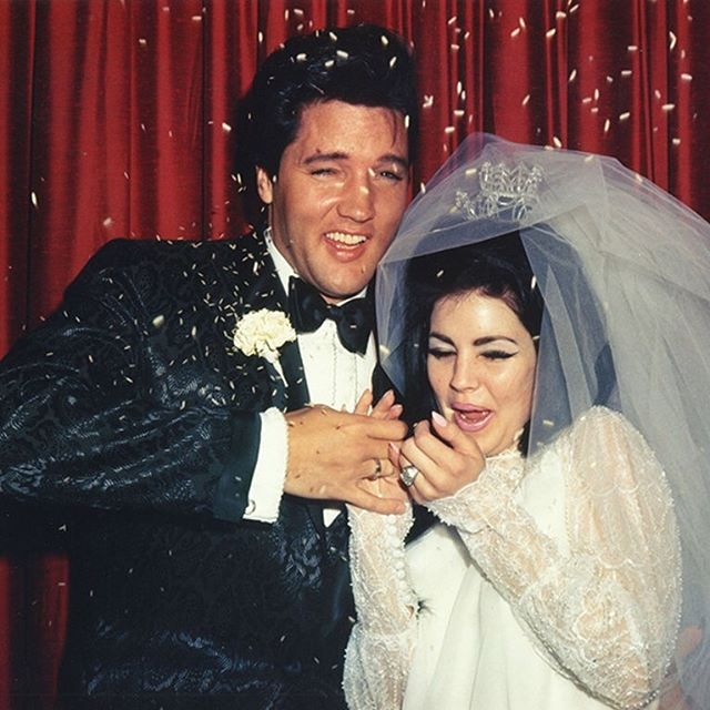 Priscilla & Elvis Presley on their wedding day, 1 May 1967 . . . #weddinginspo #bridalmusings #huffpostido #weddingwire #julietcap #destinationwedding #smpweddings #weddingchicks #greenweddingshoes #couplesgoals #stylemepretty #shesaidyes #weddingseason #loveauthentic #voguebrides #theknot #weddingblog #brideinspiration #bridalinspiration