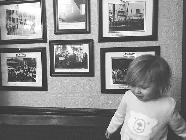 Just a girl ... in an Irish pub ... in front of a Jameson wall. 💕☘️🥃 #themiller3adventures #jameson