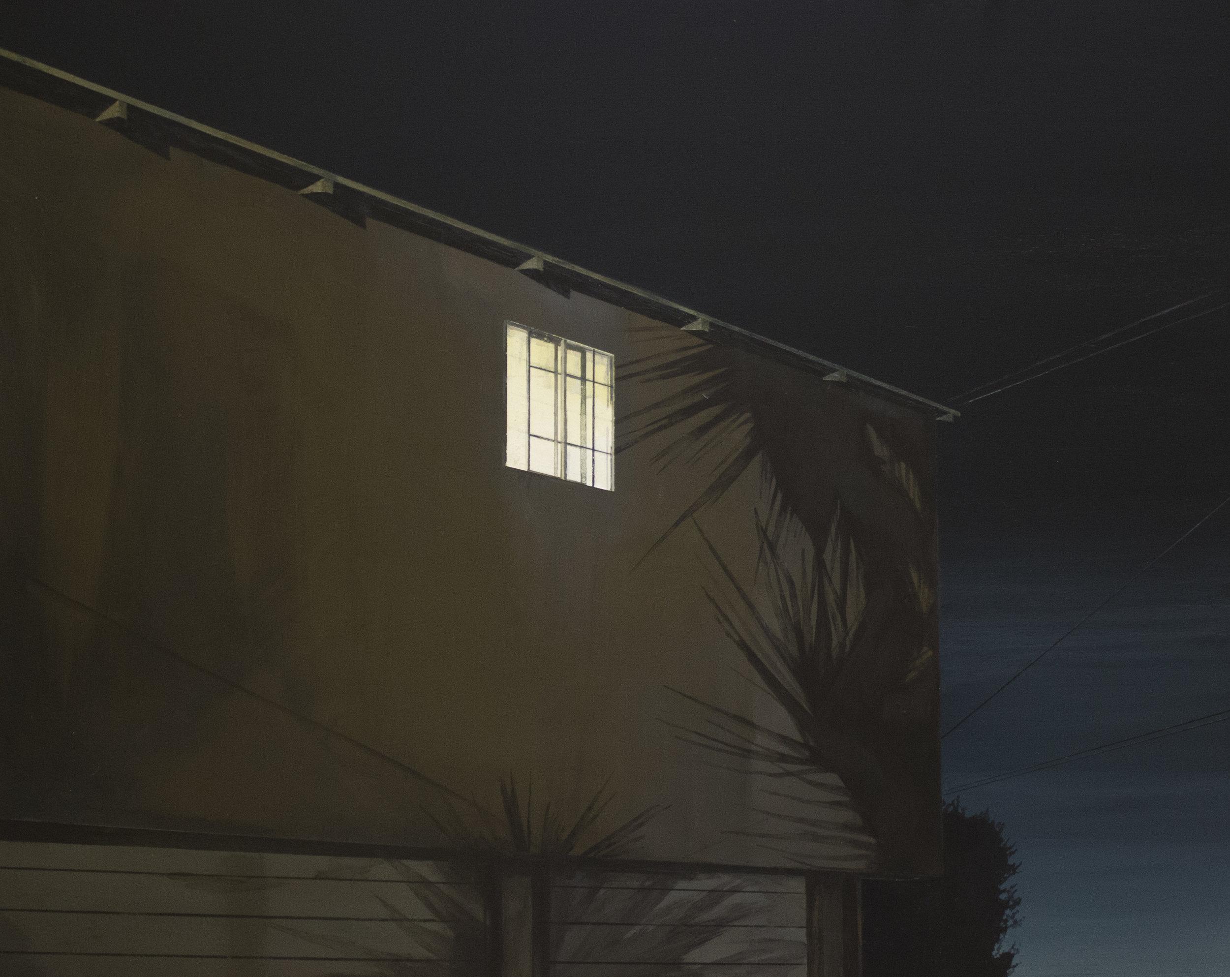 "Silhouette   20""x16""  Acrylic on panel framed  $1,000"