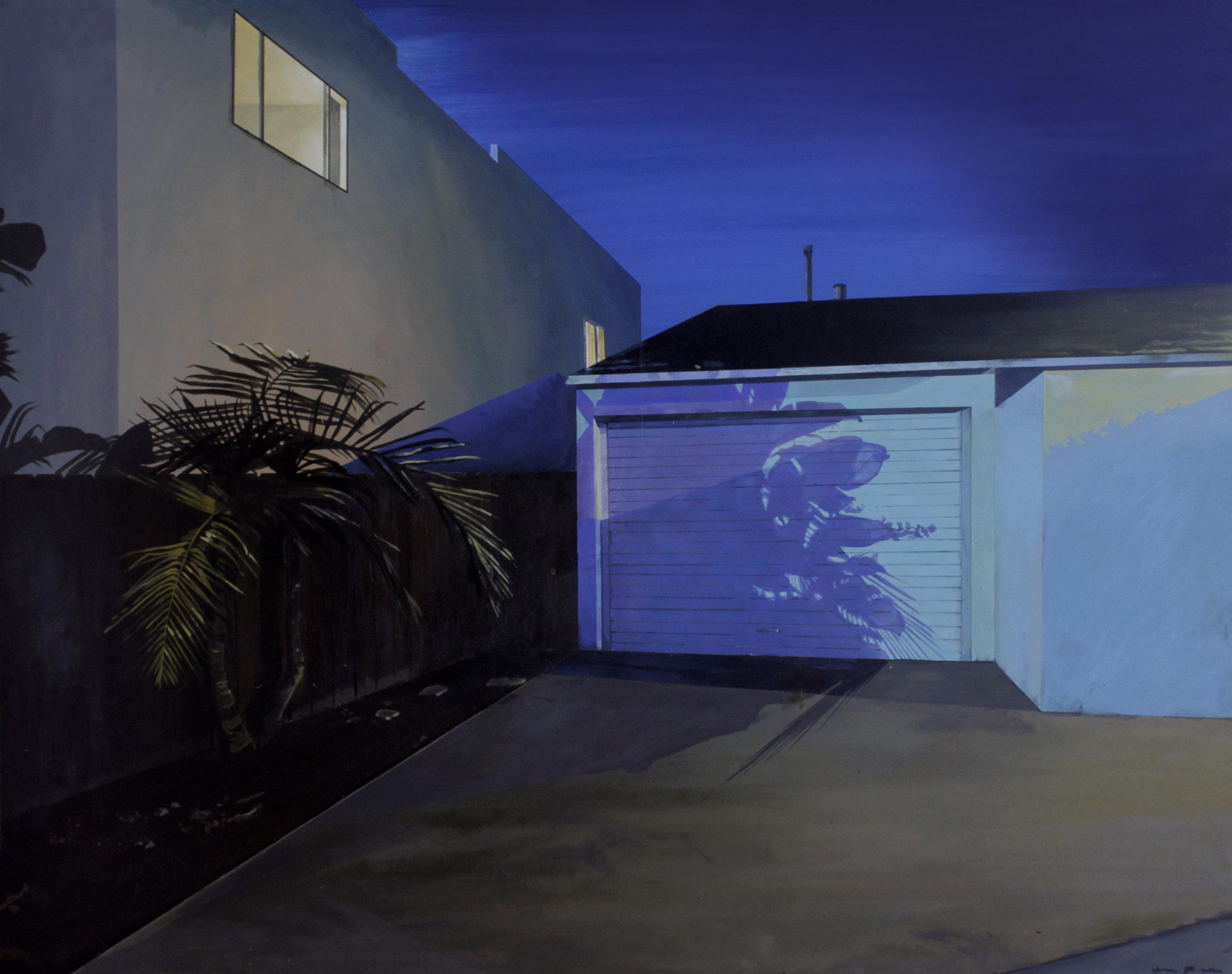 """Venice   36""""x24""""  Acrylic on panel framed"""