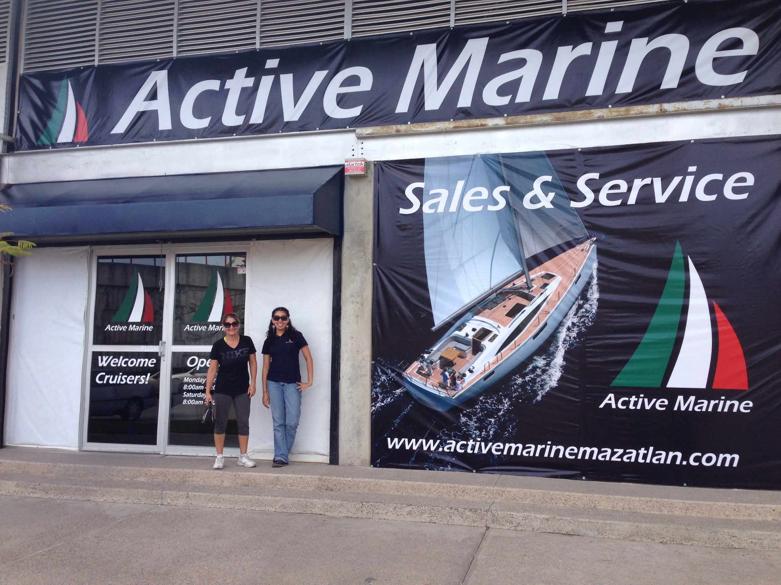 active marine mazatlan new shop front april 2014
