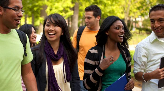 It's   possible   that not every college is as ethnically diverse as its viewbook would have you believe.