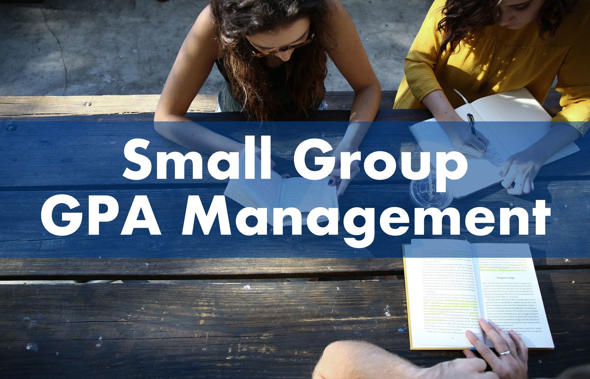 Small Group GPA Management