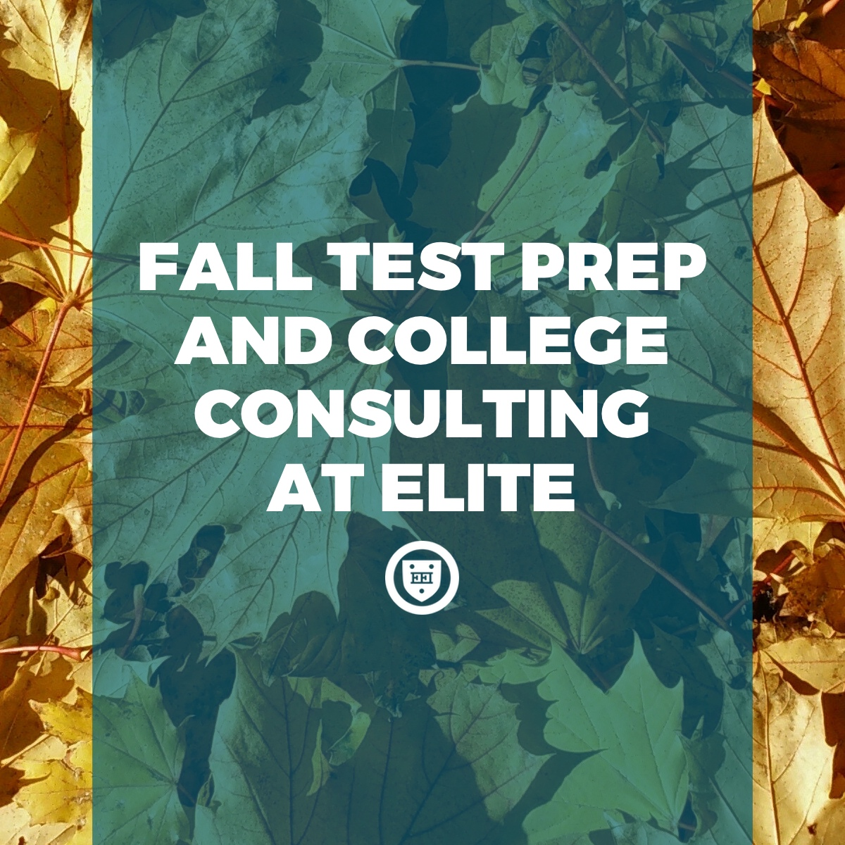 Fall test prep and college consulting at Elite