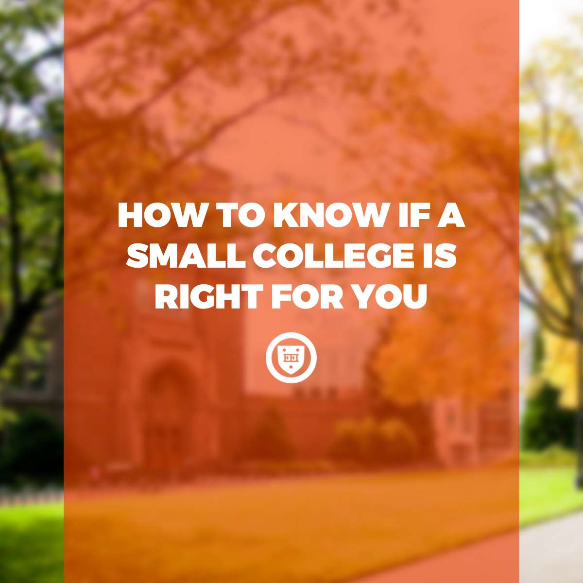 How to Know if a Small College is Right for You