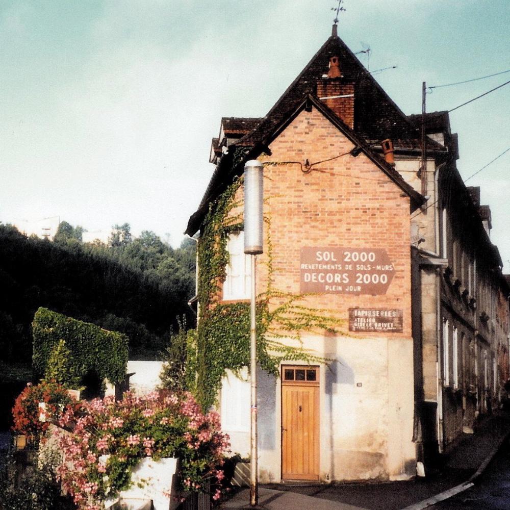 Building location of atelier. photo credit: Elizabeth J. Buckey © 1994