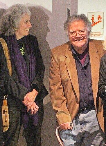 Susan Martin Maffei and Archie Brennan, January 2015 photo credit: Lisa Lomauro
