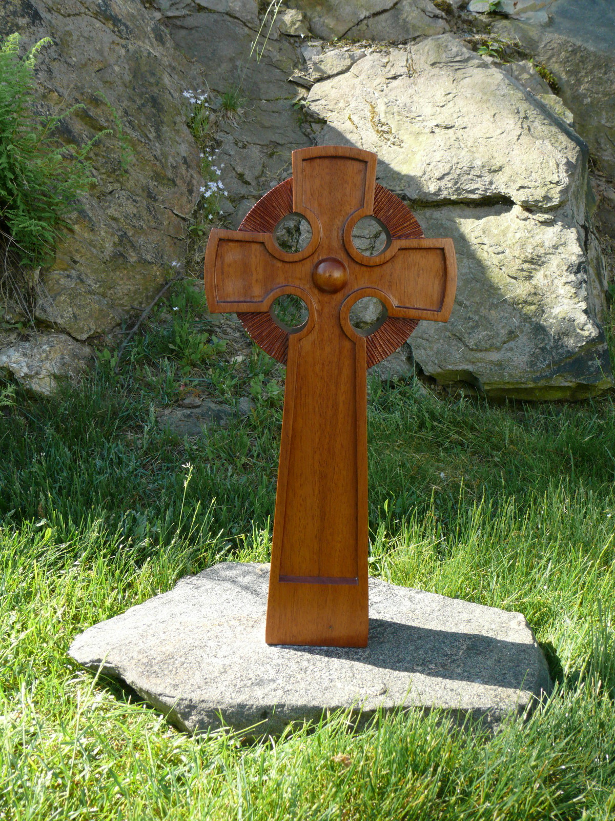 Celtic Cross Rear View