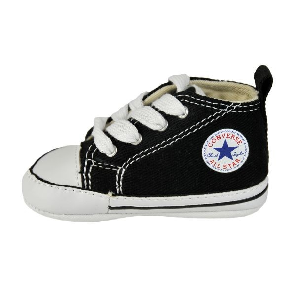Converse crib shoe  :   I will be buying these for our next kid (size 3, probably). I wanted them for Roo but didn't discover them until she was outgrowing crib shoes, so I decided to save the money. These are also great for either gender!