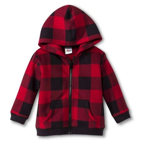 Buffalo check hoodie  - on sale in store for $4.98