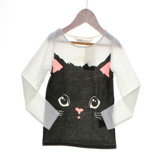 H&M kitty shirt // new with tags // size 2-4T // $5.40