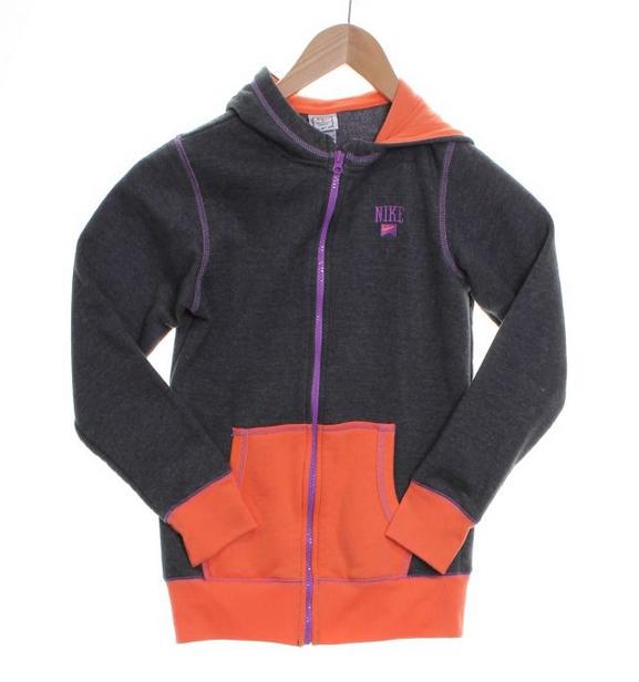 Nike zip-up hoodie // size L // $13.50