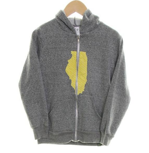 American Apparel hoodie // size 8 // $7.80