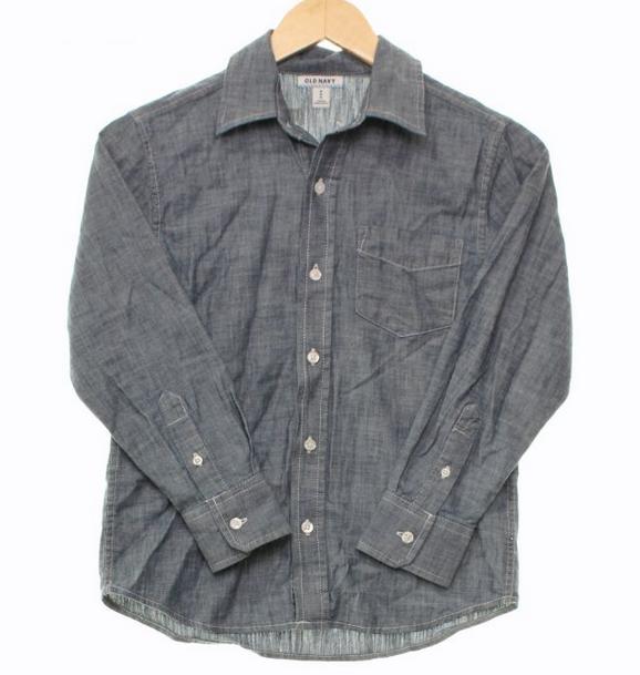 Old Navy chambray shirt // size M // $4.78