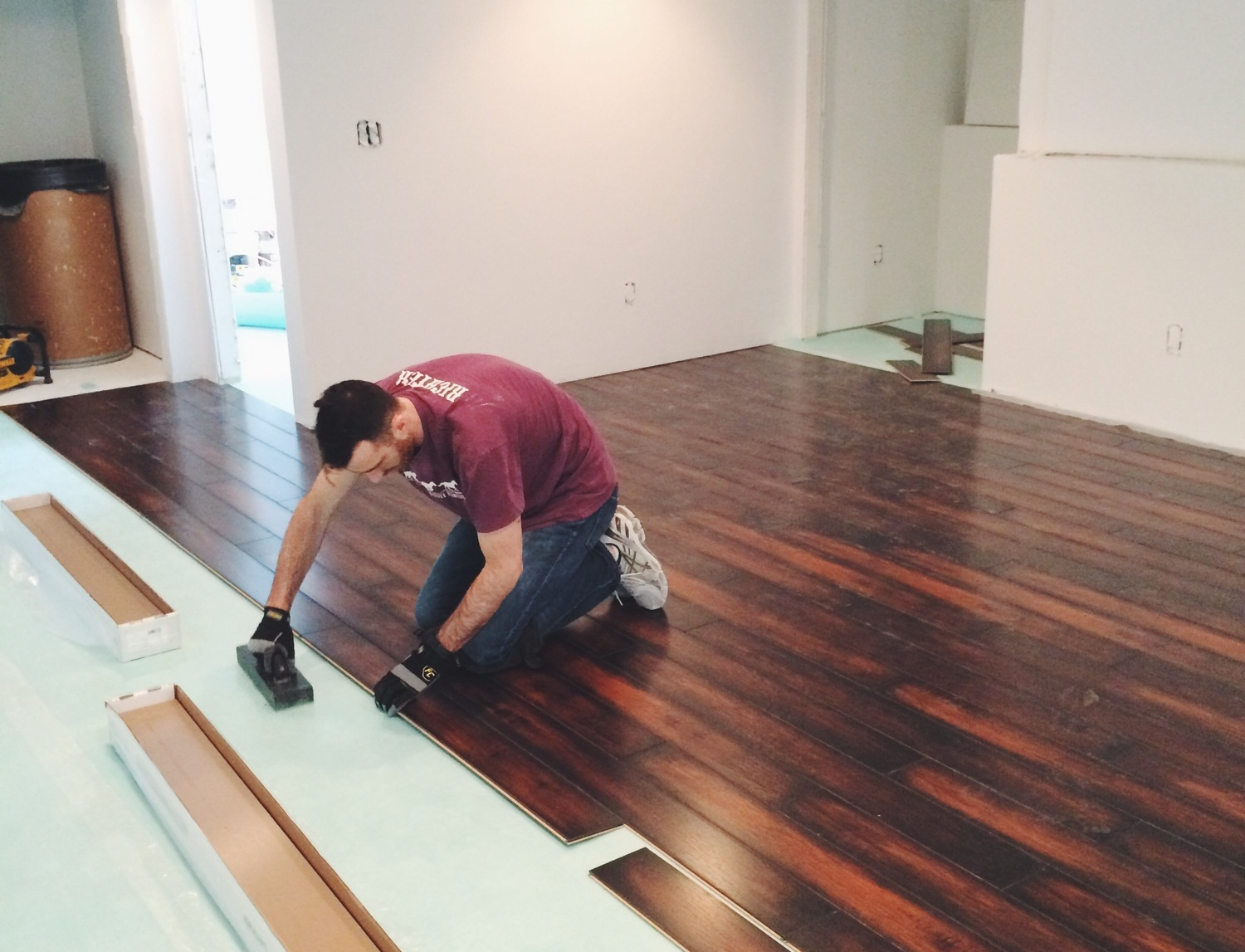 How To Install Laminate Flooring In A Basement Mycoffeepot Org