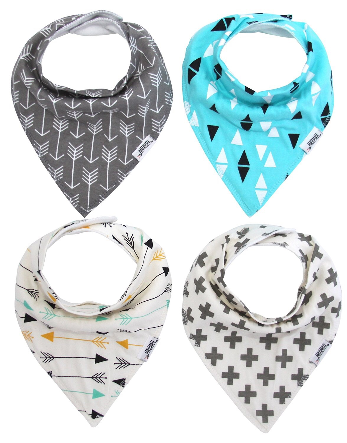 Matimati bandana bibs (set of four)   - $24.75 (gift)