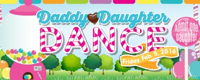 Daddy Daughter Dance ticket ($5)