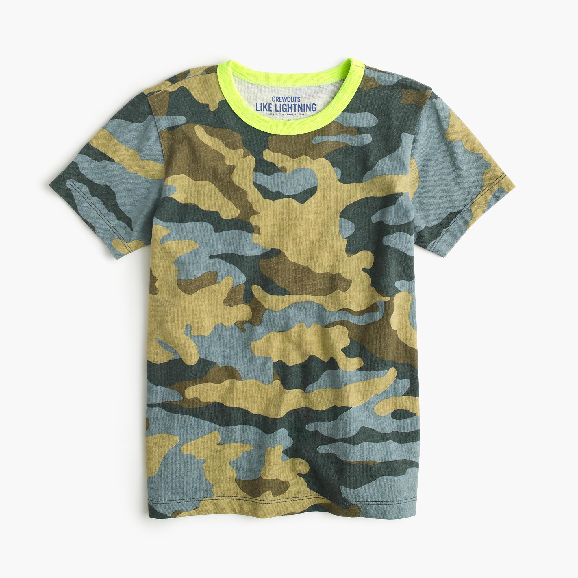 J.Crew camo T-shirt $32.50