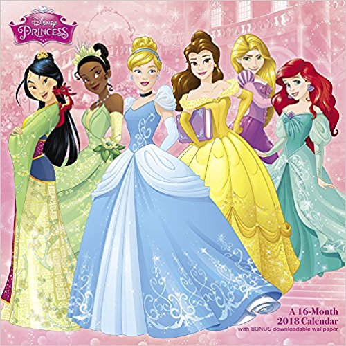Princess wall calendar $12 //   buy here