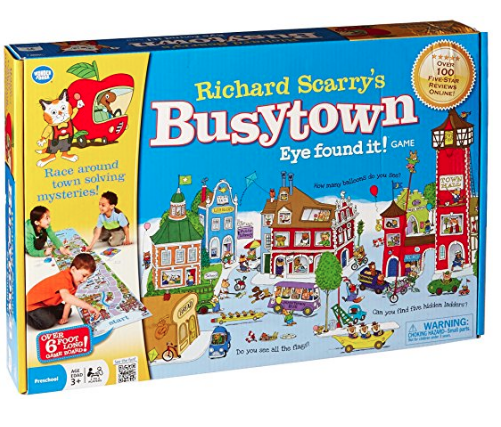 Richard Scarry's Busytown Eye Found It! Game $24 //   buy here