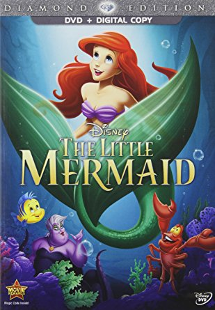 The Little Mermaid DVD $30 //   buy here