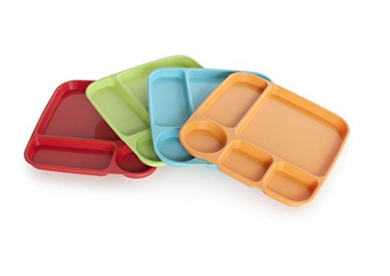 Melamine trays $12 //   buy here