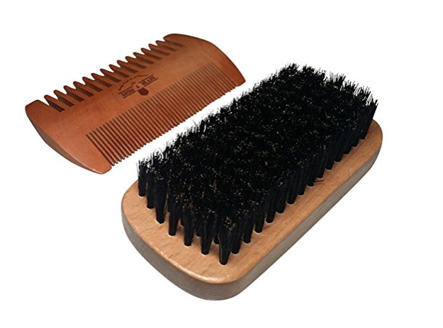 Beard brush & comb $15 //   buy here
