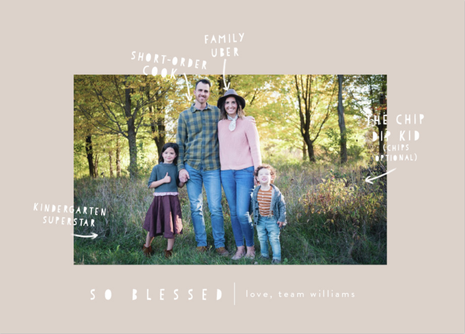 photo by Shandy Mikkelsen; card by   Minted