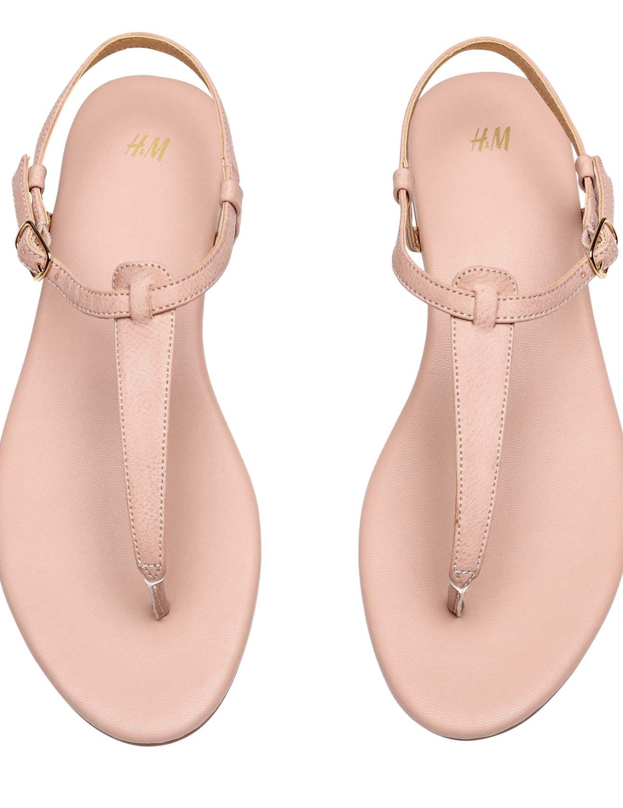 It's not sandal weather yet, but I added   these sandals   to Eric's H&M order because they're my favorite color — and only $15.