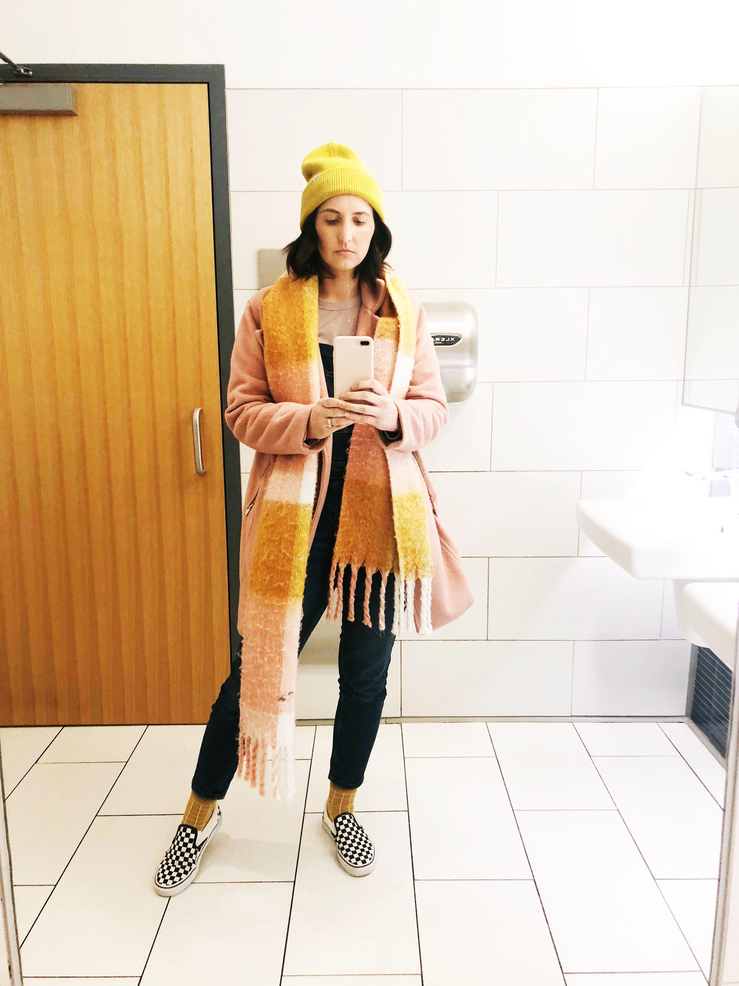 coat: Old Navy scarf: Target