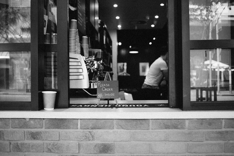 Cappuccino please.