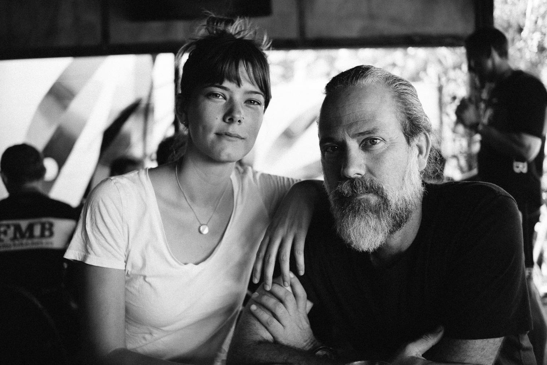 Simon and Hannah, last coffee of 2016.
