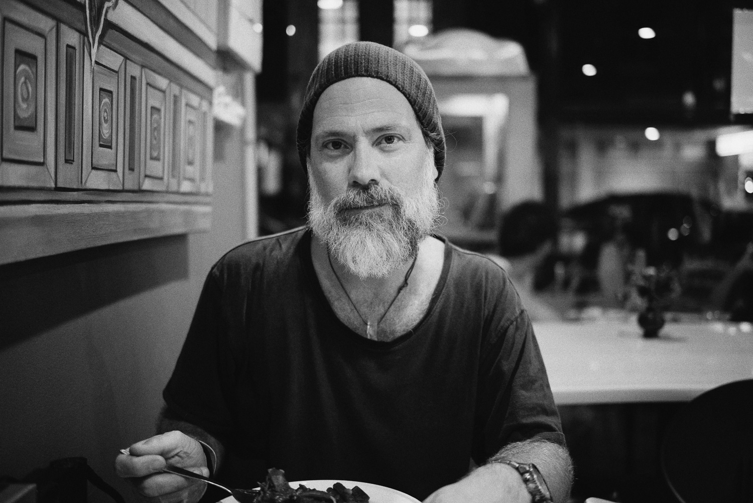 Indian Kitchen, portrait of Simon with my new Voigtlander 35mm f/1.7 Ultron Aspherical lens. Goodbye Leica Summarit, it's been awesome.