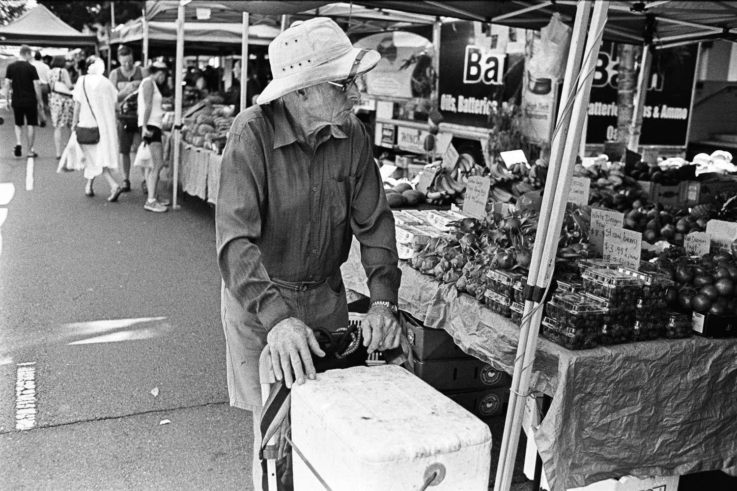Love the hat. Kelvin Grove UQ markets.