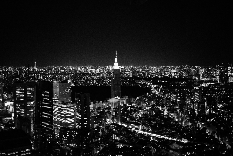 Tokyo is very big.