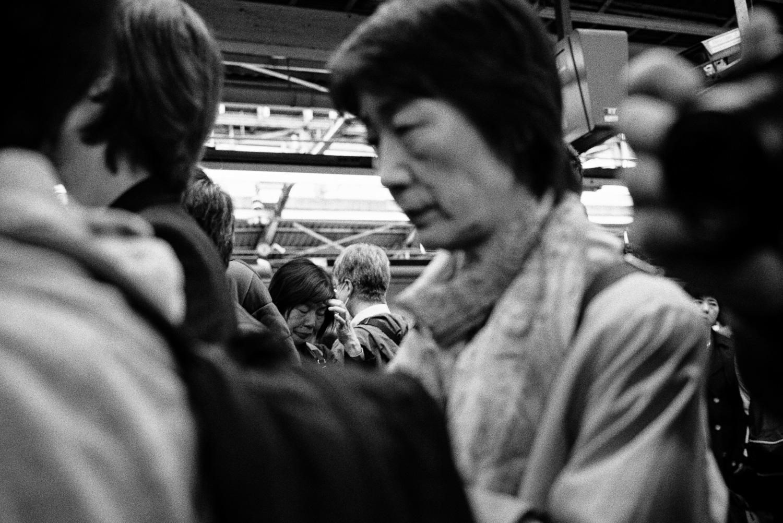 Tokyo trains stations.