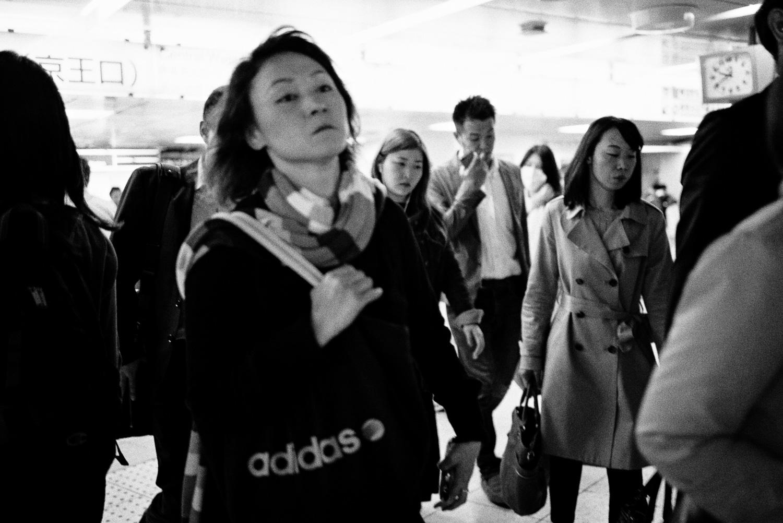 Tokyo subway stations.