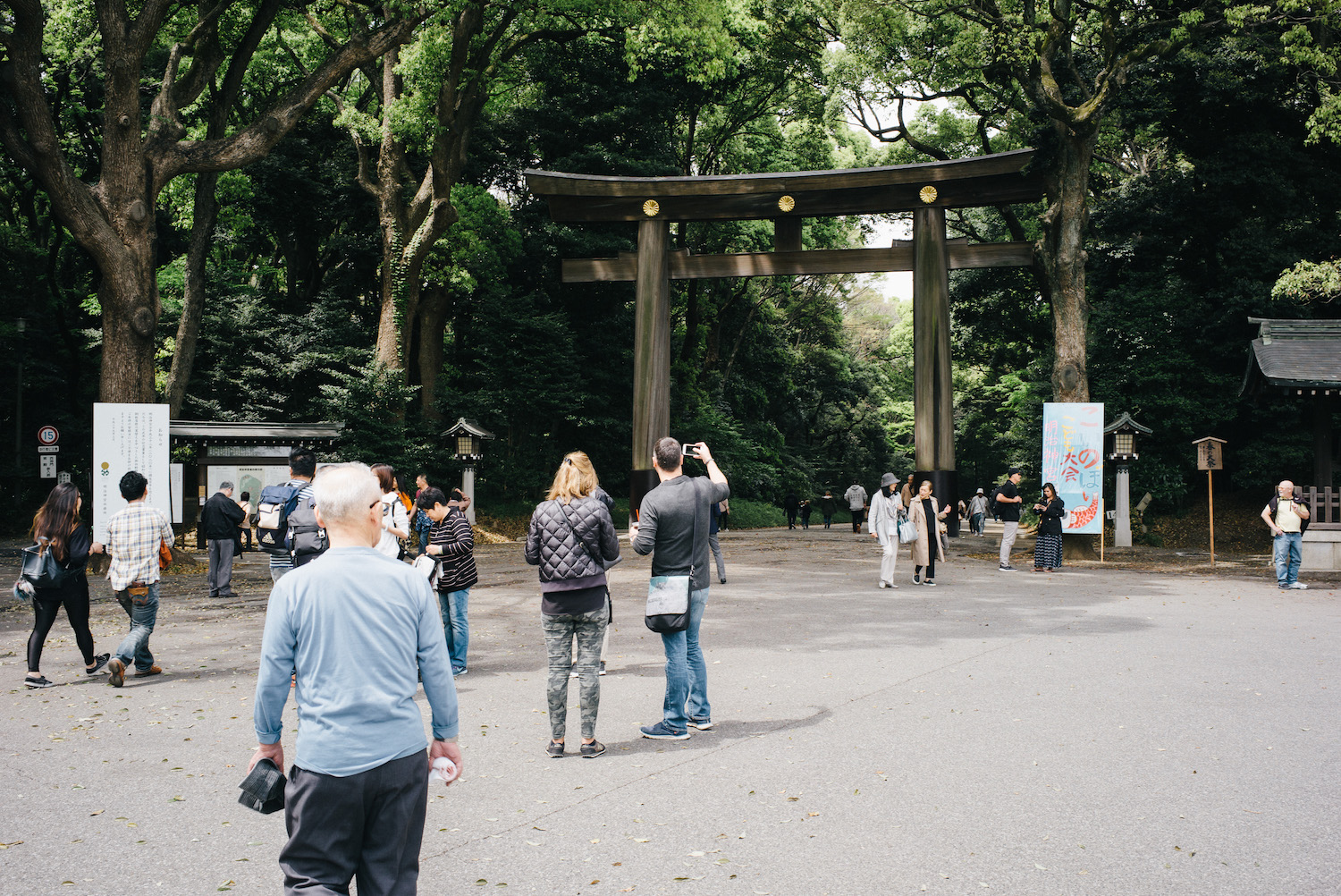 """Yoyogi Park and Meiji Shrine. This was so serene and really helped to remove that feeling of """"endless concrete jungle"""" that is Tokyo."""