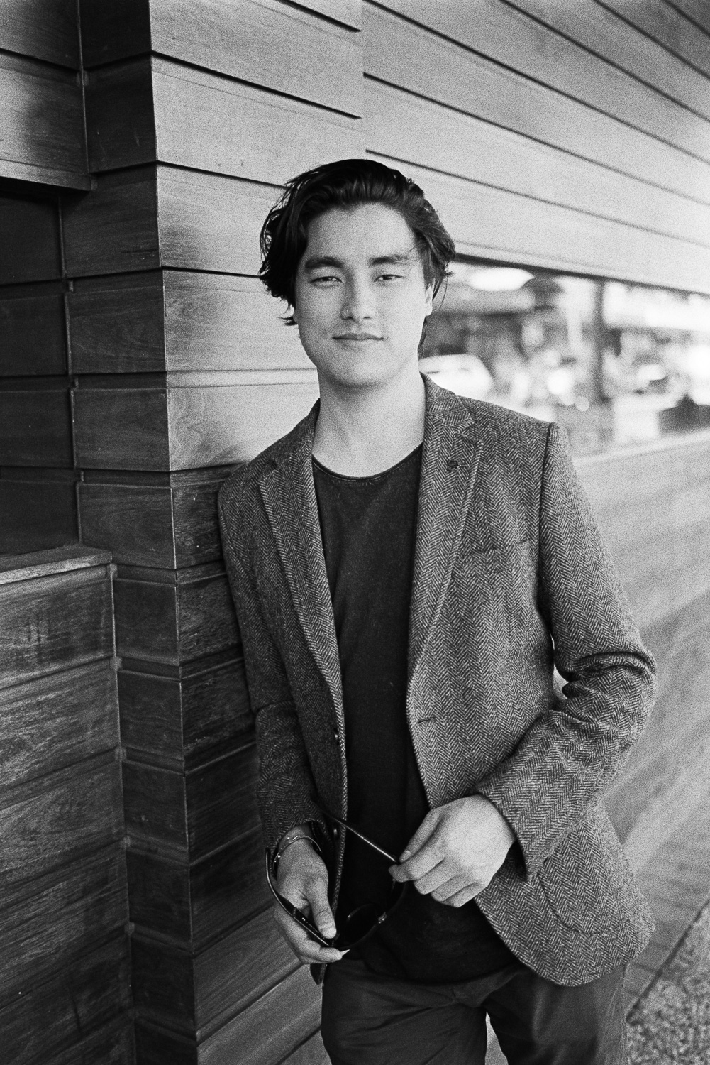 20170819 - Roll 150 - 009-Nick-Bedford,-Photographer-Actor, Black and White, Brisbane, Film, Kodak Tri-X 400, Leica M7, Marco Polo, Portrait, Remy Hii, Street Photography, Voigtlander 35mm F1.7 Ultron.jpg