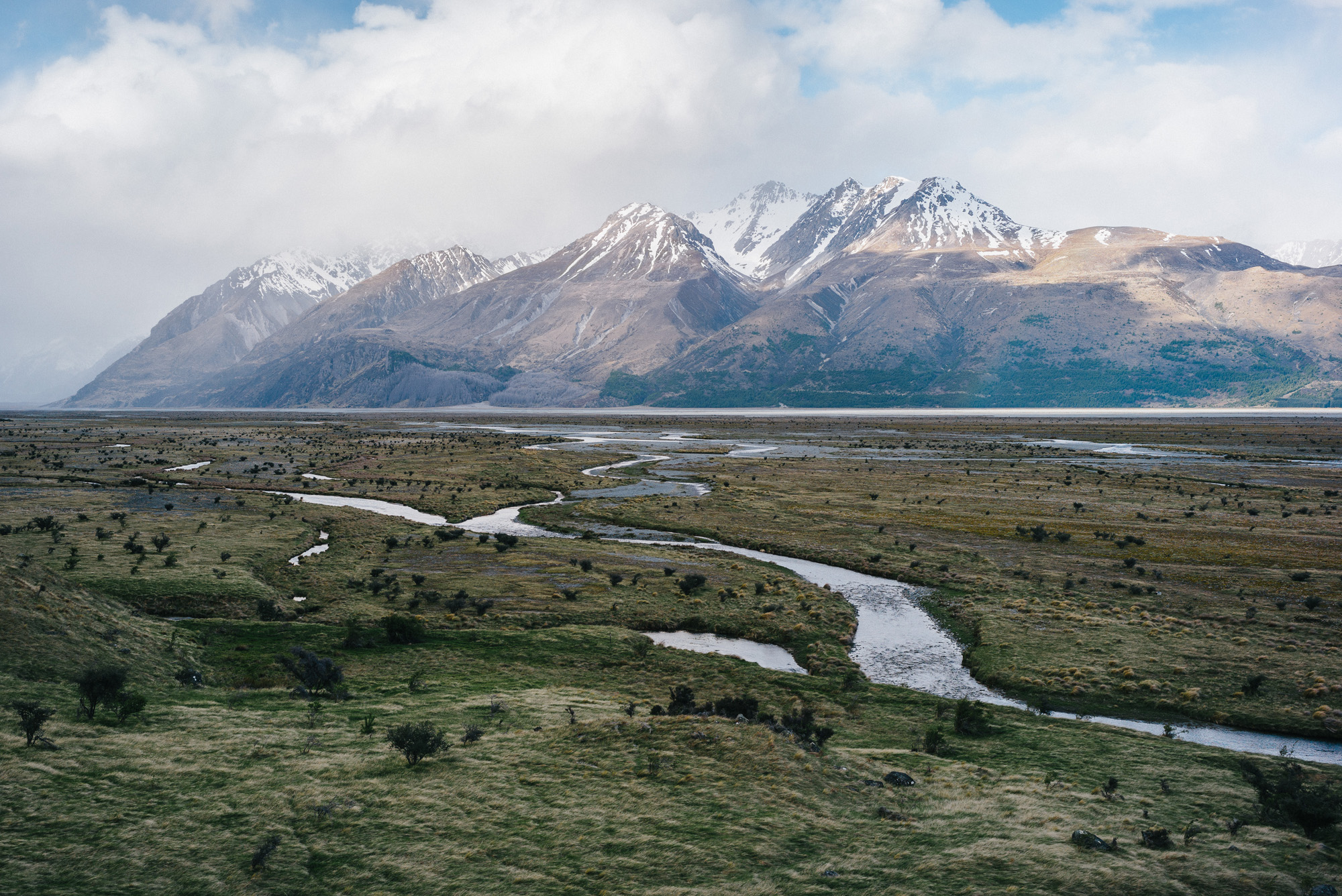New Zealand Meltwater Rivers