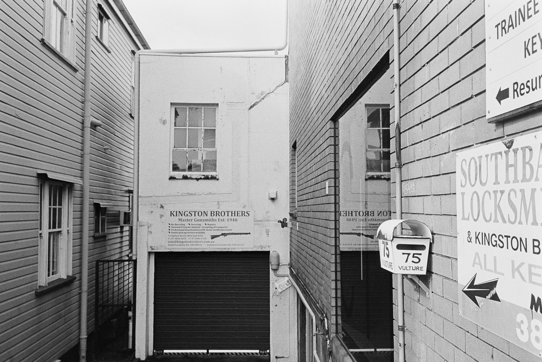 West End alleys.