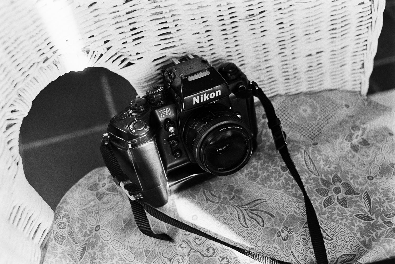 Nikon F4 — LNikon FA, 35mm F2, Kodak TX400