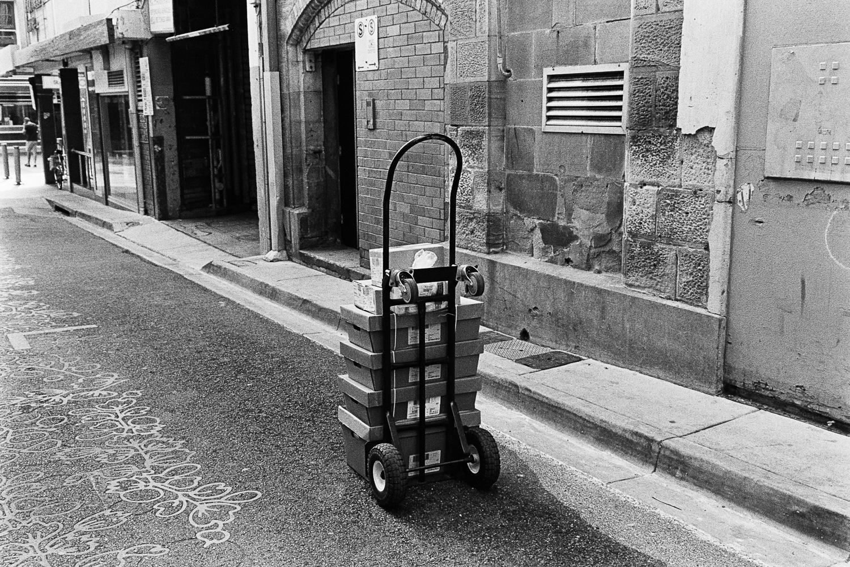 Trolleys... trolleys everywhere...