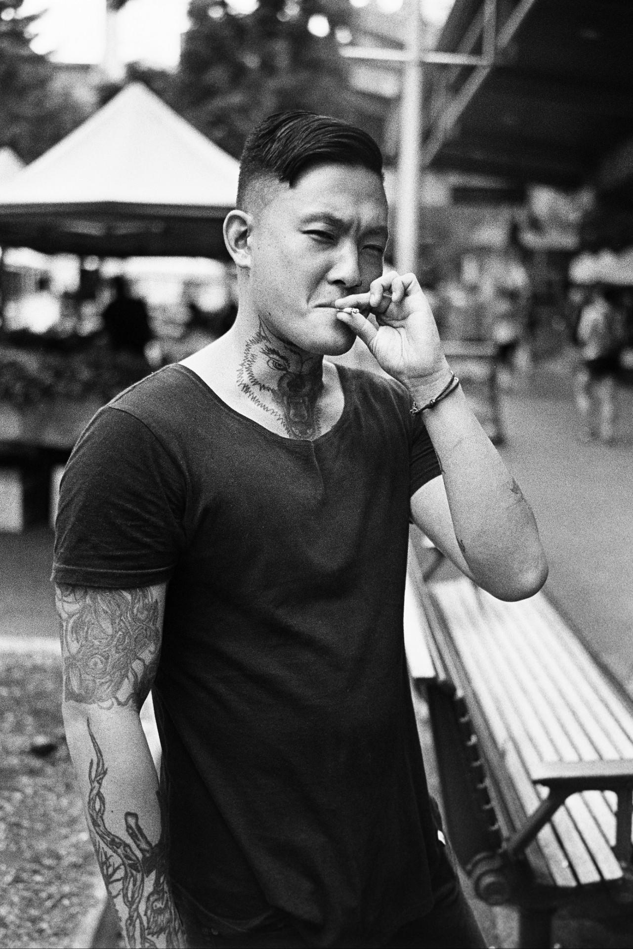 20180415 - Roll 173 - 017-Nick-Bedford,-Photographer-Black and White, Brisbane City, Film, Kodak TRI-X 400, Leica M7, Street Photography, Voigtlander 35mm F1.7 Ultron Asph_01.jpg
