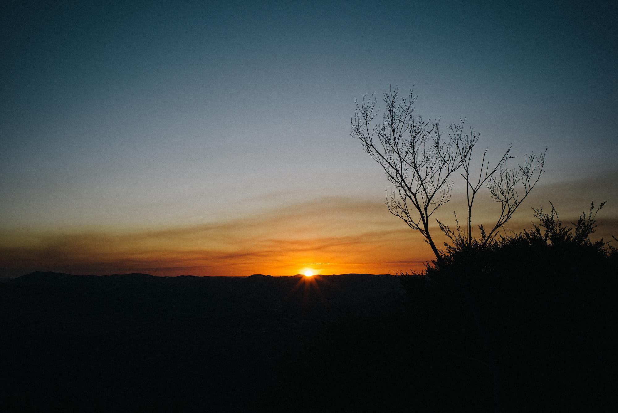 Mount Cordeaux Sunset