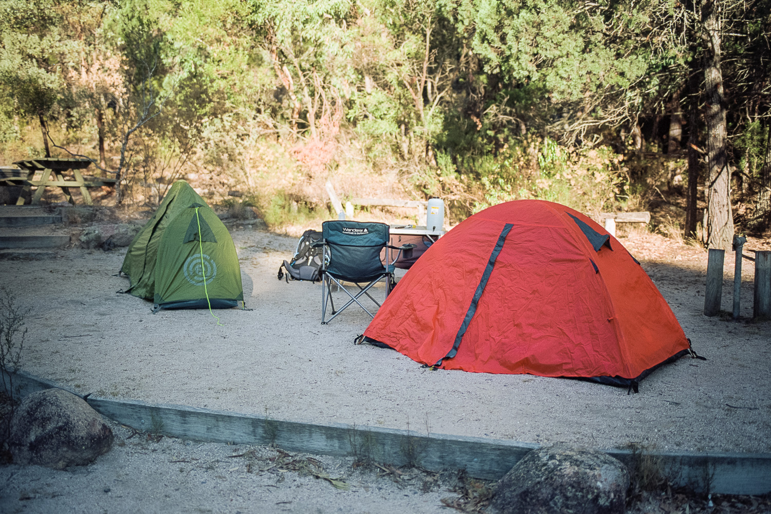 Camping is pretty great though.